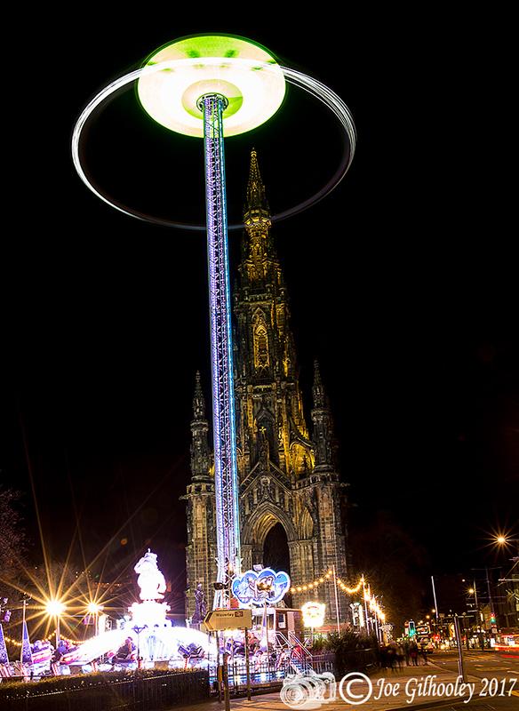 Edinburghu0027s Christmas Attractions 2017 - The Star Flyer & Edinburghu0027s Christmas Attractions Joe Gilhooley Photography