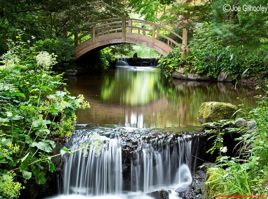 Japanese Water Garden at Stobo Castle